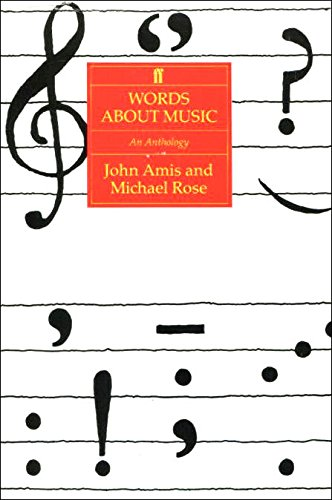 9780571147489: Words About Music: An Anthology