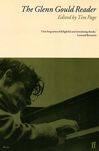 Glenn Gould Reader: Page, Tim (Ed)