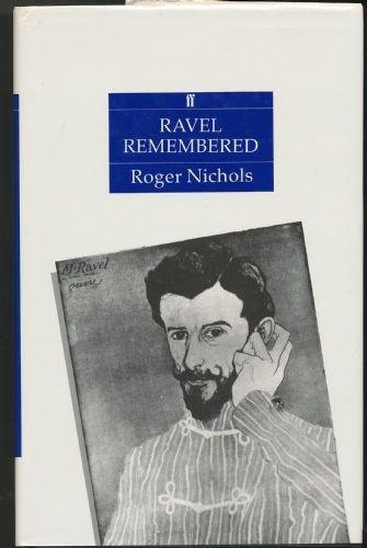 9780571149605: Ravel Remembered