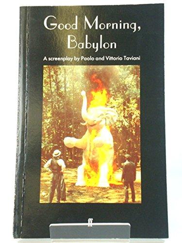 Good Morning Babylon: Taviani, Paolo