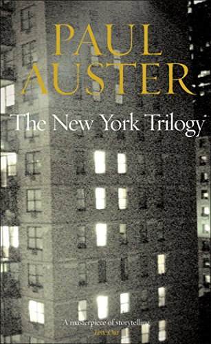 "The New York Trilogy: ""City of Glass"",: Auster, Paul"