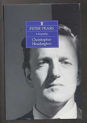9780571153626: Peter Pears: A Biography