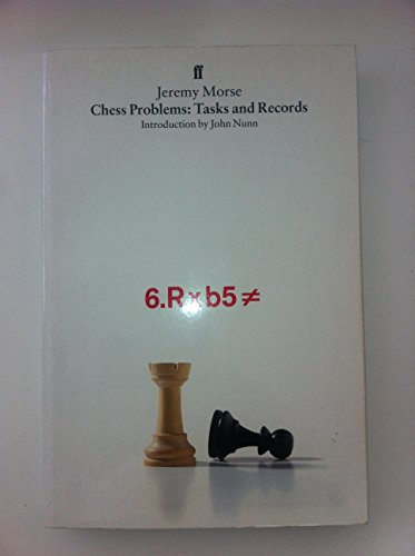 9780571153633: Chess Problems: Tasks and Records