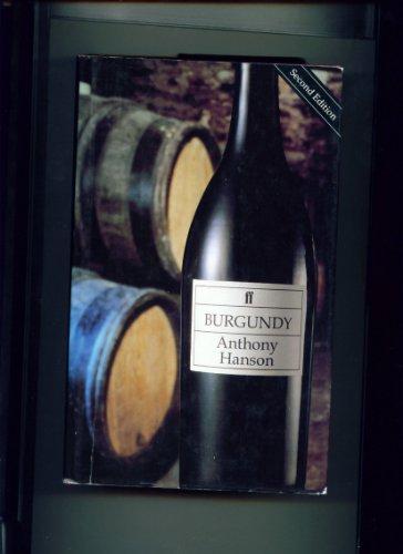 9780571153893: Burgundy (Faber Books on Wine)