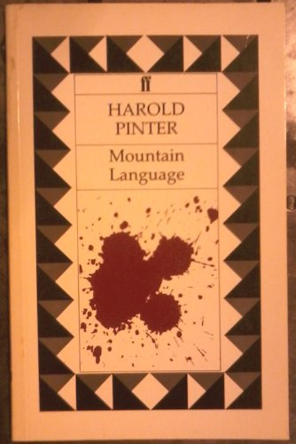 Mountain Language: Harold Pinter