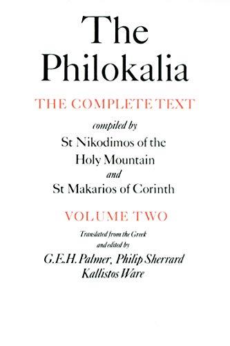 9780571154661: The Philokalia Vol 2: 002