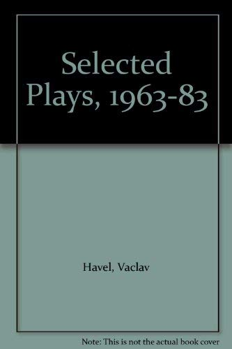 9780571160594: Selected Plays 1963-83: Havel