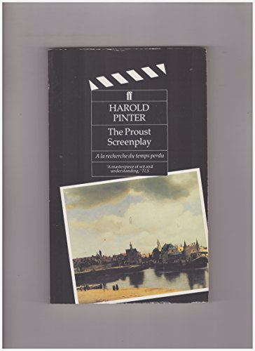 9780571160976: Remembrance of Things Past: The Proust Screenplay