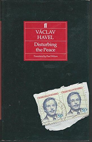 9780571162000: Disturbing the Peace: A Conversation with Karel Hvizdala