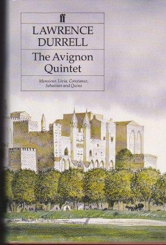 "9780571163281: The Avignon Quintet: ""Monsieur"", ""Livia"", ""Constance"", ""Sebastian"" and ""Quinx"""