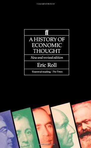 9780571165537: The History of Economic Thought