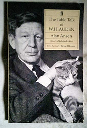 9780571165674: The Table Talk of W.H. Auden