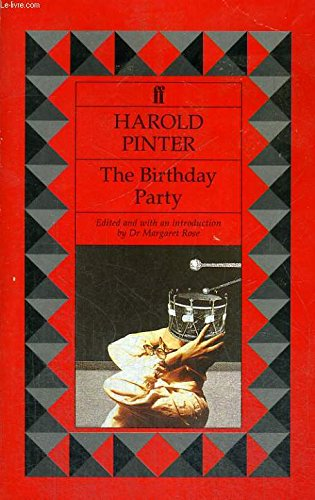 9780571167340: The Birthday Party
