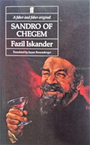 9780571167821: Sandro of Chegem