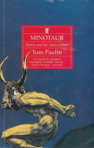 9780571168187: Minotaur: Poetry and the Nation State