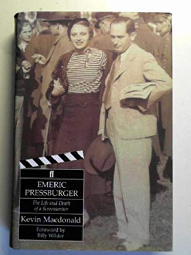 9780571168538: Emeric Pressburger: The Life and Death of a Screenwriter