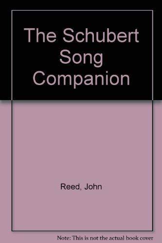 9780571170135: The Schubert Song Companion
