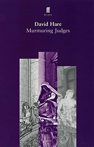 9780571172191: Murmuring Judges