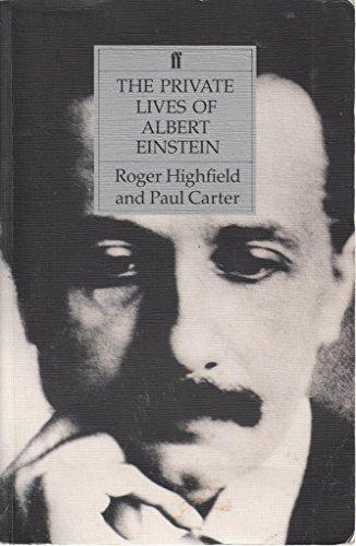 9780571172344: The Private Lives of Albert Einstein