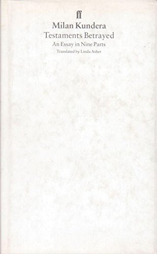 9780571173266: Testaments Betrayed