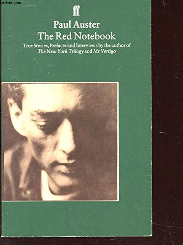 9780571177134: The Red Notebook