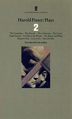 9780571177448: Harold Pinter Plays 2: The Caretaker; Night School; The Dwarfs; The Collection; The Lover