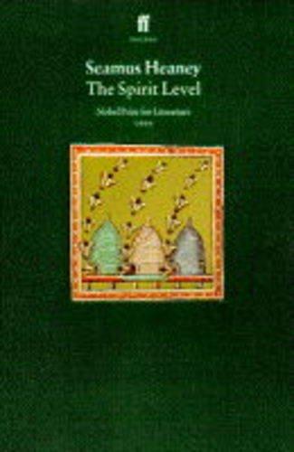 The Spirit Level.: Heaney, Seamus ::