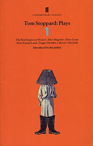 """9780571177653: Tom Stoppard Plays 1: The Real Inspector Hound, Dirty Linen, Dogg's Hamlet, Cahoot's Macbeth & After Magritte: """"Real Inspector Hound"""", """"Dirty Linen"""", ... Magritte"""" v. 1 (Faber Contemporary Classics)"""