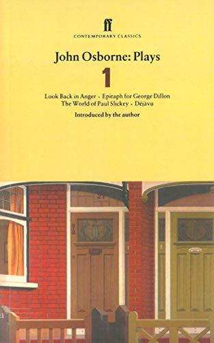 John Osborne Plays 1; Look Back in: John Osborne
