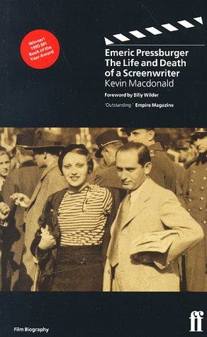 9780571178292: Emeric Pressburger: The Life and Death of a Screenwriter