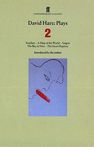 David Hare: Plays 2: Fanshen, A Map: Hare, David