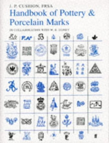9780571179237: Handbook of Pottery and Porcelain Marks
