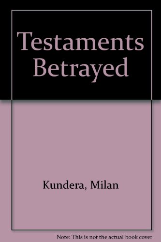 9780571179886: Testaments Betrayed