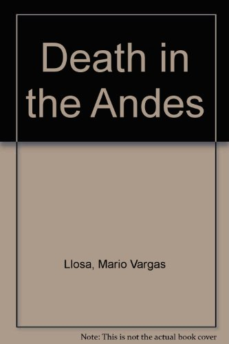 9780571191116: Death in the Andes