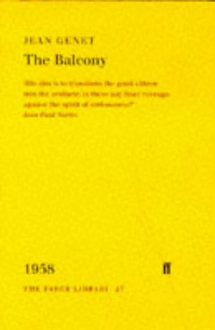 9780571192977: The Balcony (Faber Library)
