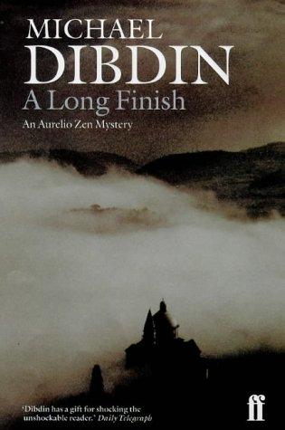 A Long Finish ***SIGNED***: Michael Dibdin