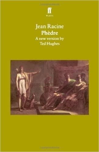 Phaedra: A New Version: Racine, Jean. Ted Hughes, translator