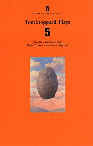 9780571197514: Tom Stoppard Plays 5: The Real Thing; Night & Day; Hapgood; Indian Ink; Arcadia: