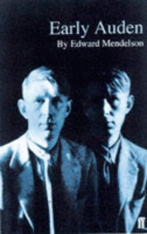 9780571197835: Early Auden