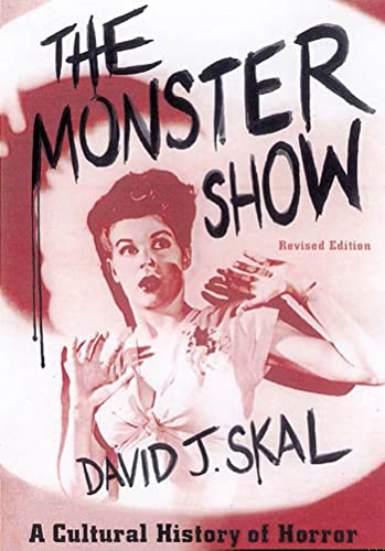 9780571199969: The Monster Show: A Cultural History of Horror