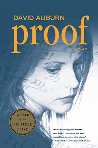Proof: A Play (0571199976) by David Auburn