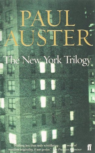 The New York Trilogy: City of Glass.: Auster Paul