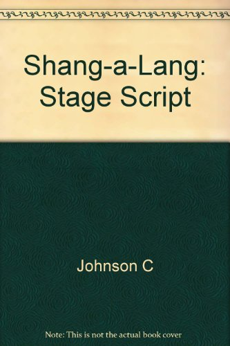 9780571200771: Shang-a-Lang: Stage Script