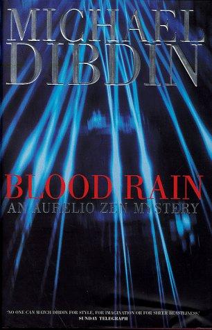 Blood Rain ***SIGNED***: Michael Dibdin