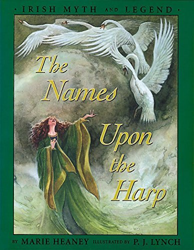 9780571207091: The Names upon the Harp: Children's Irish Legends