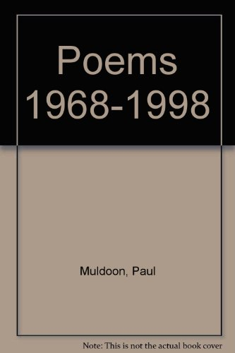 Poems 1968-1998 (Signed)