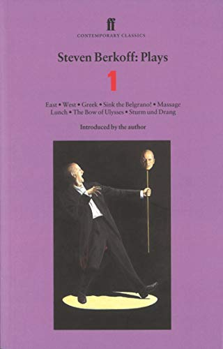 9780571207213: Steven Berkoff: Plays One (Vol 1)