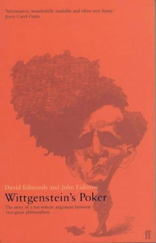 9780571209095: Wittgenstein's Poker: The Story of a Ten Minute Argument Between Two Great Philosophers
