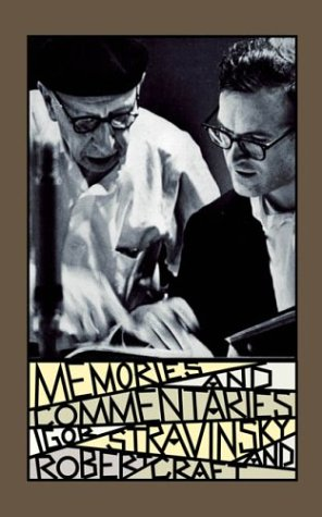 9780571211630: Memories and Commentaries: New One-Volume Edition