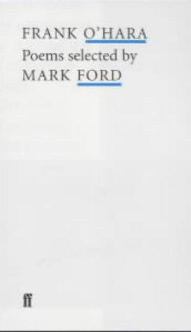 Frank Ohara (Poet to Poet) (0571218202) by O'Hara, Frank